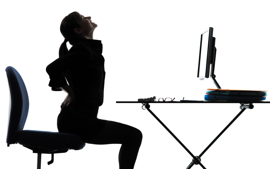 how to stop lower back pain from sitting