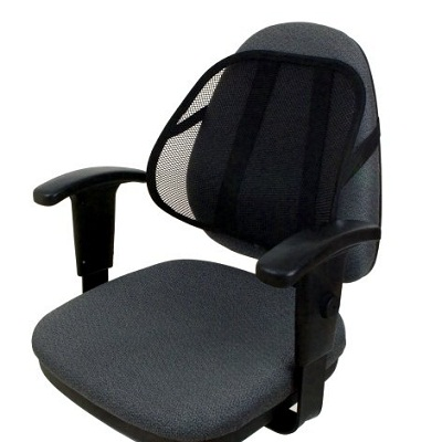 5 Best Back Supports for Office Chairs - Back Pain Health Center Back Support For Office Chairs on chair cushion for office, chair with adjustable lumbar support, chair back support products, best ergonomic chair lumbar support for office,